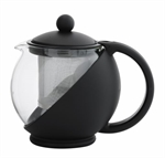 Avanti Aurora Teapot 600ml Black -avanti-What's Cooking Online Store