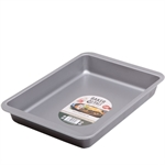 Baker & Salt Non-Stick Rectangle Multi-purpose Tin 36cm-cake-tins-and-baking-trays-What's Cooking Online Store