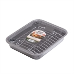 Baker & Salt Non-Stick Roast & Rack 35cm-cake-tins-and-baking-trays-What's Cooking Online Store
