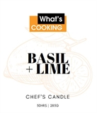 What's Cooking Candle 285g Lime & Basil -candles-and-room-fragrance-What's Cooking Online Store