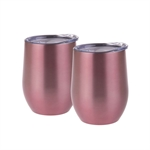 Oasis Stainless Steel Double Wall Insulated Wine Tumbler Rose 330ml EACH-oasis-What's Cooking Online Store