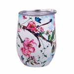 Oasis Stainless Steel Insulated Wine Tumbler Spring Blossom 330ml EACH-oasis-What's Cooking Online Store