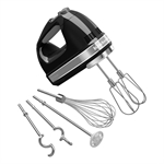 KitchenAid Hand Mixer 9 Speed Onyx Black-blenders-processors-and-choppers-What's Cooking Online Store