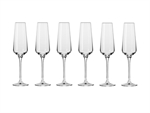 Krosno Avant Garde Champagne Flute 180ML 6pc Gift Boxed-boxed-stemware-What's Cooking Online Store