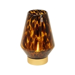 Pure Living Nari LED Amber And Black Hurricane Tall 23.5 cm-decorator-items-What's Cooking Online Store