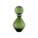 Pure Living Harris Glass Bottle Green Med 29.5 cm-decorator-items-What's Cooking Online Store