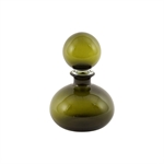 Pure Living Harris Glass Bottle Olive Small 25 cm-decorator-items-What's Cooking Online Store