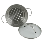 Raco Contemporary Universal Steamer With Lid Stainless Steel-saucepans-What's Cooking