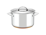 Essteele Per Vita Stock Pot 24cm 7.1L-casseroles-and-stockpots-What's Cooking Online Store