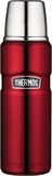Thermos Vacuum Insulated Flask 470ml Red-thermos-What's Cooking