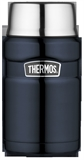 Thermos Vacuum Insulated Food Flask 710ml Blue-thermos-What's Cooking