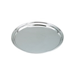 Chef Inox Tray Round 35cm Stainless Steel-trays-What's Cooking