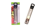 Accurite Deep Fry Stainless Steel Candy Thermometer-thermometers-What's Cooking Online Store