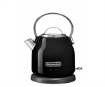 KitchenAid Compact Kettle 1.25 Litre Onyx Black-kettles-What's Cooking