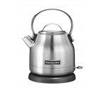 KitchenAid Compact Kettle 1.25 Litre Stainless Steel-toasters-and-kettles-What's Cooking