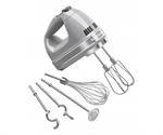KitchenAid Hand Mixer 9 Speed Contour Silver-blenders-processors-and-choppers-What's Cooking