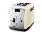 KitchenAid Artisan Toaster 2 Slice Almond Cream-toasters-and-kettles-What's Cooking