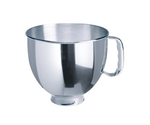 KitchenAid Mixing Bowl 4.8Litre Stainless Steel for KSM150, KSM160 and KSM156-kitchenaid-What's Cooking