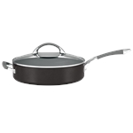 Anolon Endurance+ Covered Chef Pan 30cm   4.7 Litres-saute-and-chef-pans-What's Cooking