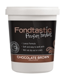 Fondtastic Mini Tub 225g Brown-cake-decorating-What's Cooking Online Store