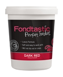 Fondtastic Mini Tub 225g Dark Red-cake-decorating-What's Cooking Online Store