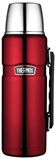 Thermos Vacuum Insulated Flask 1.2L Red-thermos-What's Cooking