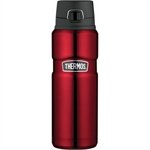 Thermos Vacuum Insulated Flask Bottle 710ml Red-thermos-What's Cooking