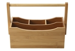 Maxwell & Williams Bamboo Utensil Caddy 25 x 14 x 20cm-utensils-What's Cooking
