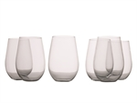 Maxwell & Williams Mansion Stemless Red 580 ml Set of 6-dining-What's Cooking