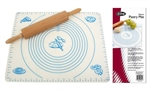 Vibe Silicone Pastry Mat 49x39cm-baking-utensils-and-accessories-What's Cooking