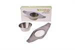 D.Line Tea Strainer Drip Bowl Stainless Steel-coffee-and-tea-accessories-What's Cooking Online Store