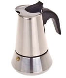 Casabarista Roma Espresso Maker Stainless Steel 6 Cup-coffee-makers-What's Cooking Online Store