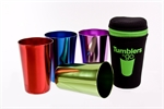 D.Line 'Tumblers To Go' Coloured Anodised Metal Tumblers Set of 4-picnic-What's Cooking
