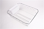 D.Line Dish Drainer Large White-space-storage-and-baskets-What's Cooking