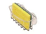 D.Line Sponge Caddy White and Chrome-space-storage-and-baskets-What's Cooking