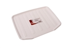 D.Line Dish Draining Board White 50x38cm-utility-storage-What's Cooking Online Store