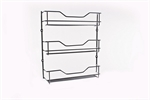 D.Line 3 Tier Spice Rack Chrome 32x28cm-space-storage-and-baskets-What's Cooking