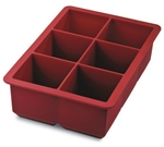 Tovolo Ice Cube Tray King Red-ice-trays-and-cooling-What's Cooking Online Store