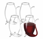 Avanti Glass Port Sippers 75ml Borosilicate Glass Set of 4-bar-accessories-What's Cooking