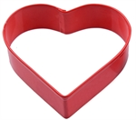 D.Line Cookie Cutter Heart Red-baking-utensils-and-accessories-What's Cooking