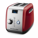 KitchenAid Artisan Toaster 2 Slice Empire Red-toasters-and-kettles-What's Cooking