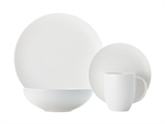 Maxwell & Williams White Basics Diamond Dinner 16 Piece-dinner-sets-What's Cooking Online Store