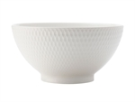 Maxwell & Williams White Basics Diamonds Noodle Bowl 20cm-white-dinnerware-What's Cooking