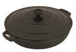 Le Chasseur Casserole 30cm 2.5 Litres Matt Black-casseroles-What's Cooking