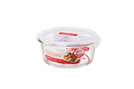 Lock N Lock Euro Glass Round 950ml-food-storage-What's Cooking