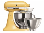 KitchenAid Stand Mixer KSM160 Magestic Yellow with BONUS 3 Piece Pasta Set *-stand-mixers-What's Cooking