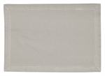 Hemstitch Table Runner Grey 180cm-kitchen-textiles-What's Cooking