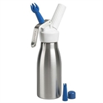 Avanti Cream Whipper with Gas Cover and 3 Nozzles 500ml-baking-utensils-and-accessories-What's Cooking