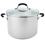 Raco Contemporary Stockpot 30cm 15.1 Litre Stainless Steel-casseroles-and-stockpots-What's Cooking