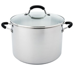 Raco Contemporary Stockpot 26cm 9.5 Litre Stainless Steel-casseroles-and-stockpots-What's Cooking